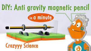 anti gravity magnetic pencil in less than 1 minute science