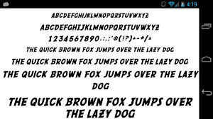 fonts for flipfont 50 comic android apps on google play
