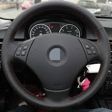bmw 325i steering wheel appdee black artificial appdee leather car steering wheel cover