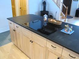 Kitchen Island Stove Top Kitchen Island With Cooktop Microwave And Breakfast Counter