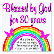 christian 80th birthday gifts t shirts art posters u0026 other