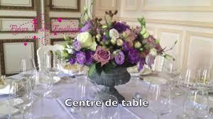 composition florale haute décoration florale mariage youtube