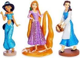 rapunzel cake topper disney princess 3 dress figure set pvc cake topper rapunzel