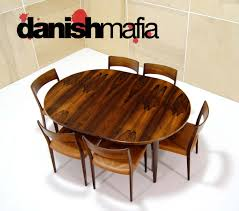 rosewood dining room furniture danish modern gunni omann 55 omann jun rosewood dining table