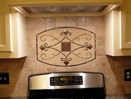 backsplash medallions kitchen kitchen backsplash metal medallions home design ideas