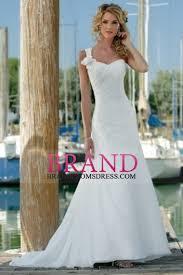 one shoulder wedding dress sheath one shoulder wedding dresses sweep brush chiffon us