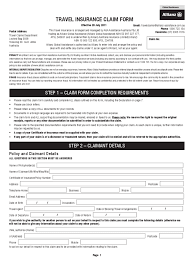 Business Travel Report Template Travel Insurance Form 2 Free Templates In Pdf Word Excel Download