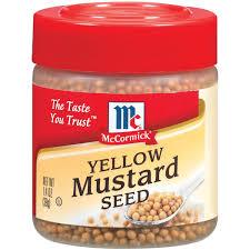 mccormick yellow mustard seed 1 4 oz walmart com