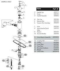 peerless kitchen faucet repair parts peerless kitchen faucet parts diagram faucets repair territory