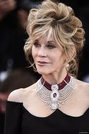 get jane fonda u0027s romantic red carpet makeup look