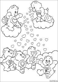 coloring care bears heart coloring
