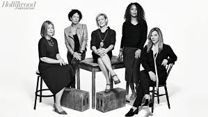 Separate Tables Film Actress Roundtable Jennifer Lawrence Emma Stone And Top Stars On