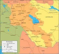 armenia on world map armenia map and satellite image