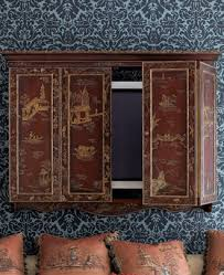 Wall Mounted Tv Cabinet With Doors Jeri U0027s Organizing U0026 Decluttering News Three Ways To Hide That Big