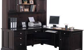 Small Black Corner Desk With Hutch Desk Wonderful Corner Desk With Hutch And Drawers Desk Models