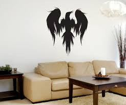 vinyl wall decal sticker mythical bird silhouette 1312