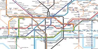 Portland Public Transportation Map by New Map Of London Tube Helps People With Anxiety To Travel The