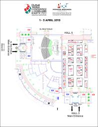 venue and floor plan dubai world conference for consumer rights