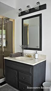 Painting Bathroom Fixtures Serendipity Refined How To Update Oak And Brass Bathroom Fixtures