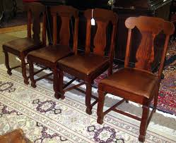 Antique Dining Chairs European Four Vintage Dining Room Chairs U2013 Plushemisphere