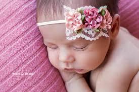 headband newborn dainty baby headband vintage inspired baby girl headband newborn