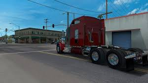 kenworth trailers kenworth w900 by slava1 v1 0 0 for ats american truck simulator