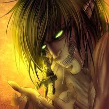 my dear titan u2013 eren and mikasa daily anime art