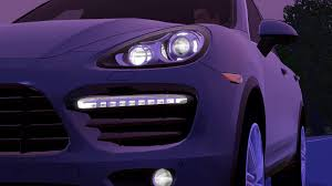 light purple porsche fresh prince creations sims 3 2012 porsche cayenne turbo