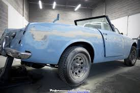 datsun roadster datsun roadster resto mod update 2 paint body and interior