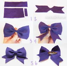 how to make hair bows for doll craft how to make a felt hair bow americangirlfan