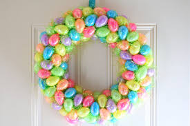 Easter Decorations With Plastic Eggs by Eight Creative Ways To Upcycle Plastic Easter Eggs Homecrux