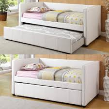 twin size daybed with trundle coaster daybed white trundle bed