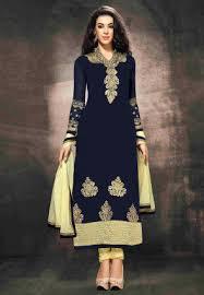 buy blue salwar kameez and blue color salwar suits online