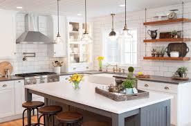 farmhouse style kitchen with oak cabinets 35 amazingly creative and stylish farmhouse kitchen ideas