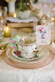 bridal shower tea party shabby chic bridal shower