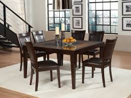 modern square dining table for 8 home design furniture splendid small kitchen square dining