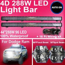 Led Vehicle Light Bar by 2x 44