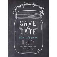 halloween save the date magnets mason jar standard save the date walmart com