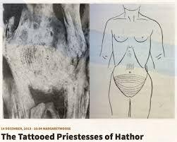 needles and sins tattoo blog the tattooed priestesses of hathor