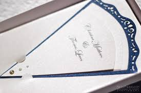 fan shaped wedding programs a must see gallery wedding and event stationery designed by