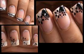 nail art nail art french manicure designs tip for summernail