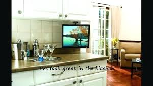 under cabinet dvd player mount flip down tv for kitchen thamtubaoan club