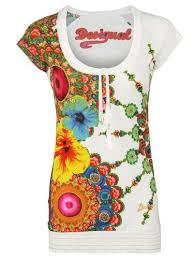 designer t shirt damen buy desigual damen designer top t shirt bolena in cheap price