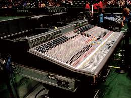 Sound Desk Mixing Live Legends