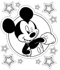 Coloriage mickey super star Coloriages mickey  jeu pour fille
