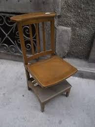 chaise d église chaise d église vintage en bois stella prie dieu church