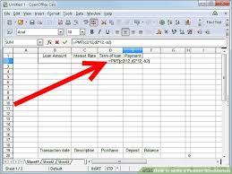 Spreadsheet Pictures 3 Ways To A Finance Spreadsheet Wikihow