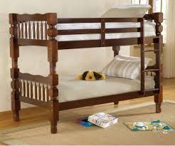 Bernards Bx Dillon Twin Over Twin Bunk Bed Cherry Finish - Twin over twin bunk beds