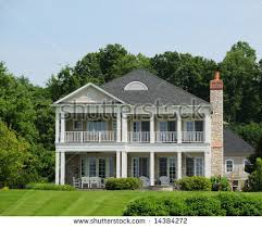 Southern Style Homes by Beautiful Southern Style Home Typical Kentucky Stock Photo