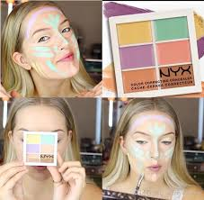 nyx colour correcting concealer palette epacket high quality nyx concealer palette concealer makeup